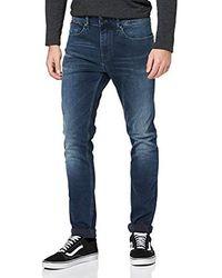 Tommy Hilfiger Steve Slim Tapered Utdk Jeans Straight Uomo - Blu