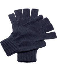 Regatta Rg278 Acrylic Fingerless Mitts - Blue
