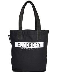 Superdry Surplus Goods Explorer Tote - Black