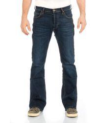 Lee Jeans Jeans Jeanshose Denver Bootcut Denim Stretch Hose Baumwolle Blau w30-w44