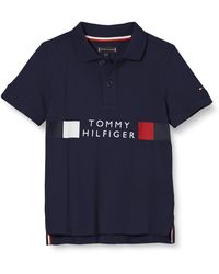 Tommy Hilfiger - Global Stripe Polo S/s Camisa - Lyst