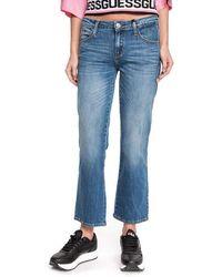 Guess Sexy Straight W01A48 D3XR1 Jeans Donna Denim Medium Blue 27