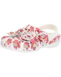 Crocs™ Damen Classic Timeless Clash Roses Clog - Weiß