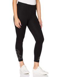 Desigual Pant_JENY Pantalones Informales - Negro