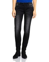 Street One 372677 Crissi Casual Fit Jeans - Schwarz