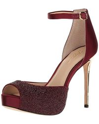 6bb047d52e6 Lyst - Imagine Vince Camuto Karleigh Heeled Sandal in Gray