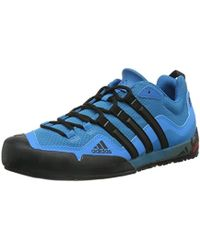 e4337b2d5b002 adidas Terrex Solo Shoes in Blue for Men - Lyst