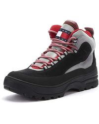 Tommy Hilfiger Tommy Jeans Heritage Expedition Womens Black Boots