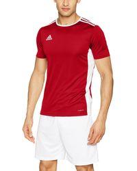 adidas Soccer Entrada 18 Jersey - Rosso