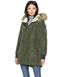 Madden Girl - High And Low Anorak - Lyst