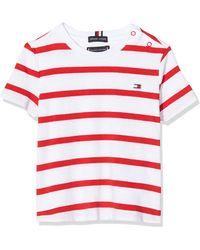Tommy Hilfiger - Nautical Stripe tee S/s Camiseta - Lyst