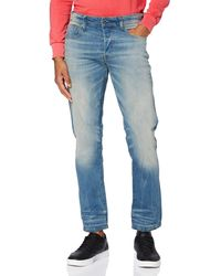 G-Star RAW - 3301 Straight Tapered Jeans para Hombre - Lyst