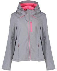 Superdry Hooded Sd-windtrekker Jacket - Grey