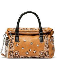 Desigual Bols_bandana Explosive Loverty Handbag - Brown