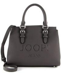 Joop! - Lettera Peppina Handbag SHZ Darkgrey - Lyst