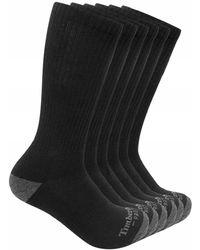 Timberland - 6-pack Performance Crew Length Socks - Lyst