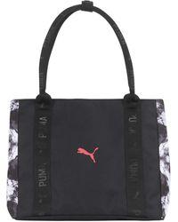PUMA Evercat Lounge Tote Bag - Black