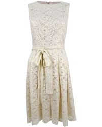 Tommy Hilfiger Fit And Flare Dress - Natural