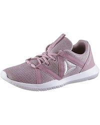 01f04b9bb84b Reebok - Reago Essential Fitness Shoes Multicolour (infused Lilac lavendar  Lucky white 000