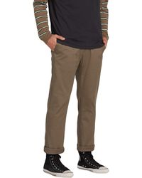 Volcom Frickin Modern Fit Stretch Chino Pant - Multicolor