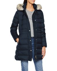 Tommy Hilfiger Essential Hooded Down Coat - Blue