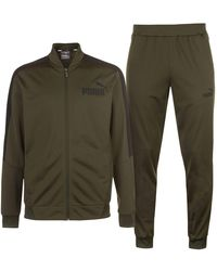 PUMA Poly Trainingsanzug Jogginganzug Sportanzug - Grün