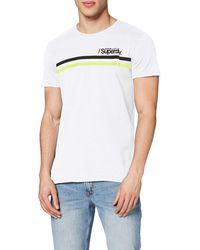 Superdry - Core Logo Sport Stripe T-shirt - Lyst
