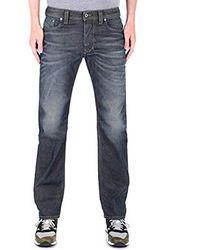 DIESEL Larkee Jeans Droit Homme - Bleu