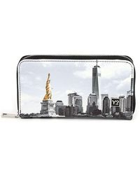 adidas Y Not? Fas-361s1 Portafoglio Donna New York - Grey