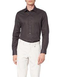 FIND T-Shirt à Rayures Verticales - Gris
