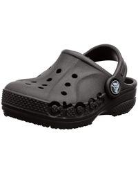 Crocs™ Baya Clog K Niños Zoccoli - Negro