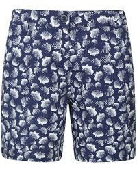 Mountain Warehouse Short s Lakeside II - Léger, Durable, Confortable, en Coton - pour la Plage, Les Pique-niques Bleu 50