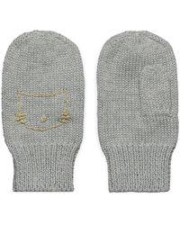 Esprit Knit Mittens - Gris