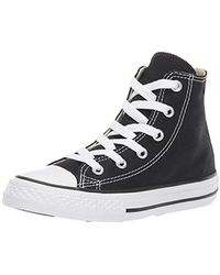 Converse Youths Chuck Taylor All Star Hi - Sneakers Basses - Mixte - Noir