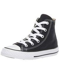 Converse Ctas Core Hi Zapatillas de tela, Unisex - Negro