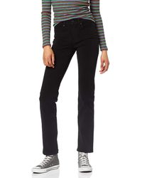 Levi's 314TM Shaping Straight Jeans (Plus Size) Negro
