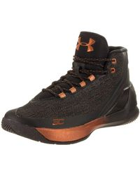 Under Armour Curry 3 Basketball Shoes - 8.5 Black