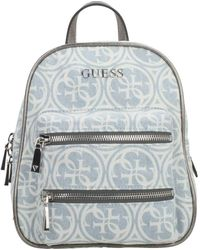 Guess Caley Backpack Denim - Bleu