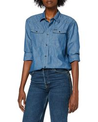 G-Star RAW 3301 Relaxed Camicia - Blu