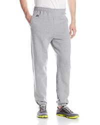 b49e3dad6ec0fc Russell Athletic - Dri-power Closed-bottom Sweatpants With Pockets - Lyst