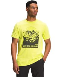 The North Face - S/S Natural Wonders Tee - Lyst
