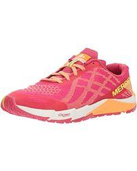 Merrell Bare Access Flex E-mesh Trail Running Shoes - Pink