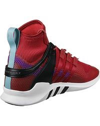 new product e0103 6b776 Eqt Support Adv Winter Fitness Shoes - Red