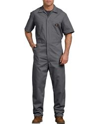 Dickies Short Sleeve Coverall - Gray