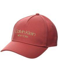 Calvin Klein CK NY BB Cap Casquette De Baseball - Rose