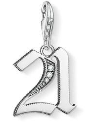 Thomas Sabo - Women Silver Pendant - 1507-643-21 - Lyst