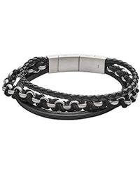 Fossil - Herren-Strangarmbänder JF02937040 - Lyst