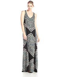 Ella Moss - Fez Printed Maxi Dress - Lyst
