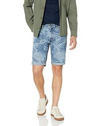 Levi's Herren 511 Slim Cut-Off Short - Blau