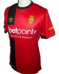 Umbro Rcd Mallorca Home Football Shirt 2018-2019 - Red